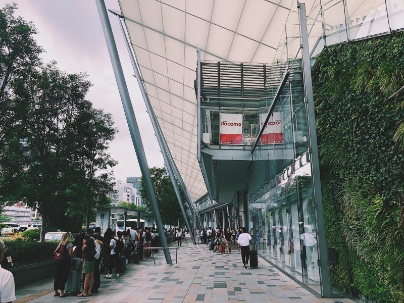 東京駅の八重洲口の写真素材